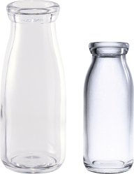 2 types of milk bottel free png download