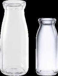 2 types of milk bottel free png download