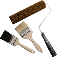 3 types handle black brush free png download