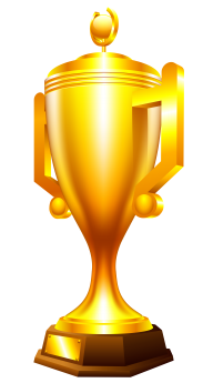 3D Golden Cup Png Image Free