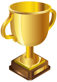 3D Golden Cup Png Image