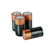 4 duracell battery free png download