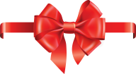 6 notted red ribbon free clipart download