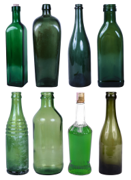 8 types of wine bottel free png download