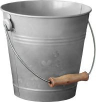aluminum bucket free png download