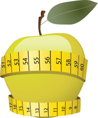 Apple Png with tape