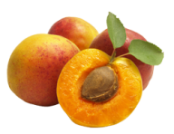 Apricot Png with Reddish Color