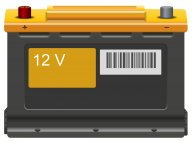 Automotive Battery Free PNG Image Download 21