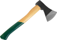 Axe Png With Green Handle