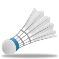 badminton ball PNG
