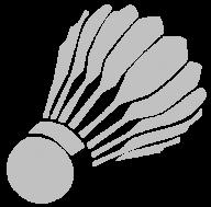badminton clipart PNG