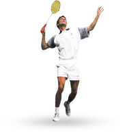 badminton play PNG