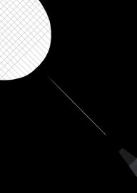 badminton shape PNG