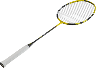 badminton white handled bat png image