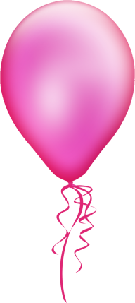 Balloon Png in Pink Color