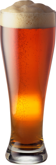 beer filled conecial glass free png download