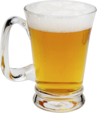 beer filled hand glass free png download