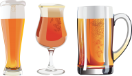 beer on 3 type  glass free png download