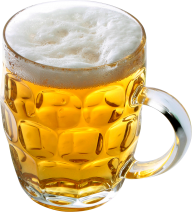 beer on fancy  glass free png download
