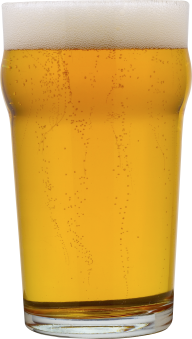beer on glass bend free png download
