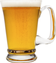 beer on glass free png download