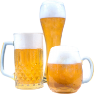 beer on3  glass free png download