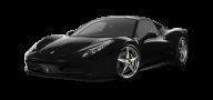 Black Ferrari Png Image