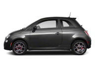 Black Fiat side view png image