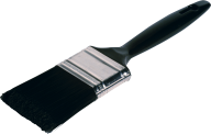 black handle black brush free png download