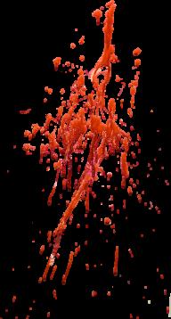 blood splashed free png download