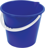 BLUE BUCKET FREE PNG DOWNLOAD