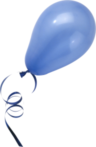 Blue Color Balloon Png