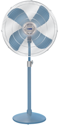 Blue Table Fan Png Image