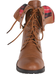 brown boot png