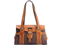 brown women fancy handbag free png download