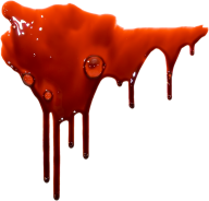 bubbled flowing blood free png download