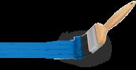 bule paint  brush free clipart download
