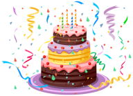 celebraty cake free clipart download