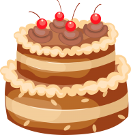 cherry cake free clipart download