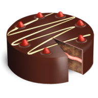 choco cake free clipart download