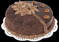 choco flowerd cake free png download
