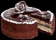 choco piece cake free png download