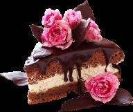 choco rose cake free png download