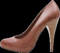 classic  brown heelshoe free png download