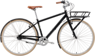 classic front bucket bicycle free png download