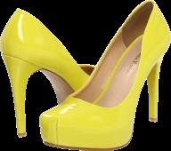 classic yellow pair heelshoe free png download