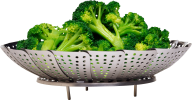 cuted on plate green broccoil free png download
