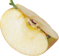 Cutted Apple Png