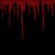 dark back flowing blood free png download