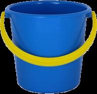 DARK BLUE BUCKET FREE PNG DOWNLOAD